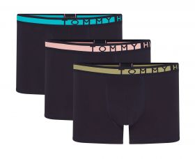 Tommy 3-Pack Statement Waistband Trunks Μπλέ Μαρίν