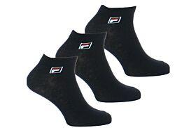 Fila Unisex Αθλητική Κάλτσα F9303 Μαύρο 3τεμ
