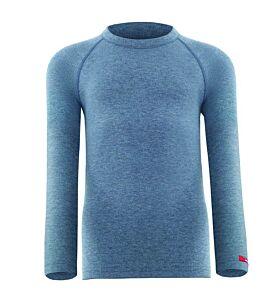 Blackspade Παιδικό Ισοθερμικό T-Shirt 9265 Γκρί Μελανζέ