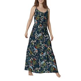 Triumph Botanical Leaf Dress 04 Γυναικείο Φόρεμα Φλοράλ