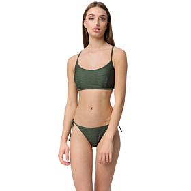Minerva Athina Tanga Bikini Slip Bottom Χακί
