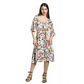 Be Cool Γυναικείο Κοντομάνικο Φόρεμα Φλόραλ