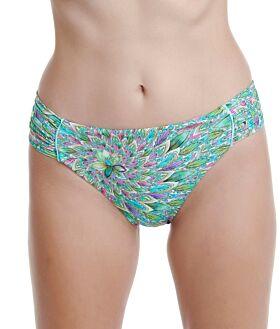 Erka Μαγιό Bikini Bottom Slip 20115 Εμπριμέ Πράσινο
