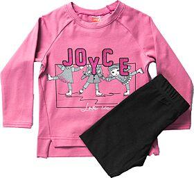 Joyce Βρεφικό Σετ Ice Skating Σάπιο Μήλο-Μαύρο