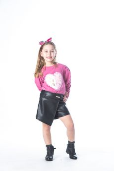 Joyce Παιδικό Σετ Love Κορίτσι Σάπιο Μήλο-Μαύρο