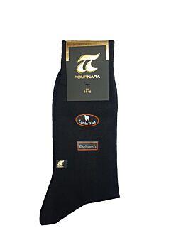 Πουρνάρα Ανδρική Κάλτσα Μάλλινη Ισοθερμική Μαύρο 205