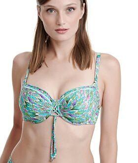 Erka Μαγιό Bikini Top Cup D 21505 Πράσινο