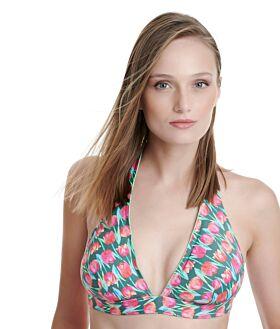 Erka Μαγιό Bikini Top Τρίγωνο Tulip Cup D Χακί