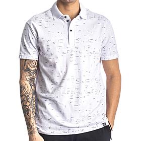 Paco & Co Polo T-Shirt Small Latters Λευκό