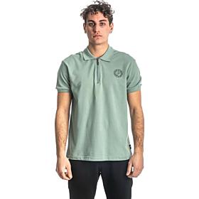 Paco & Co Polo T-Shirt Μονόχρωμο 213608 Μέντα