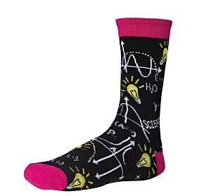 Ysabel Mora Ανδρική Βαμβακερή Κάλτσα 22801 Μαύρο-Multicolor