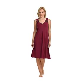 Primavera Γυναικείο Midi Φόρεμα Μπορντό