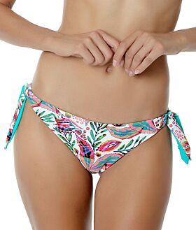 Erka Μαγιό Bikini Bottom 40911 Εμπριμέ Τιρκουάζ