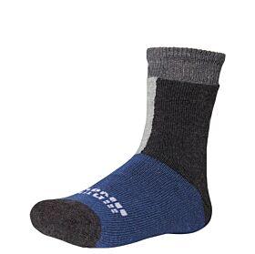 Ysabel Mora Βαμβακερή Κάλτσα 42223 Γκρι Μελανζέ-Μπλε Ραφ