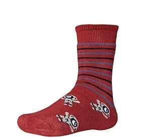 Ysabel Mora Βαμβακερή Αντιολισθητική Κάλτσα 42226 Τερακότα