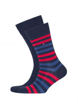 Tommy Hilfiger Ανδρική Κάλτσα Σετ 2 Ζευγαριών Μπλέ Azur