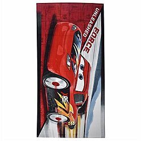 Stamion Πετσέτα Θαλάσσης Cars Force Unleashed 70*140cm Κόκκινο