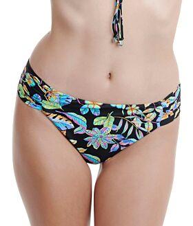 Erka Μαγιό Bikini Bottom Slip 50115 Εμπριμέ Μαύρο