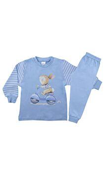 Pretty Baby Βρεφική Πιτζάμα Αγόρι Vespa Γαλάζιο