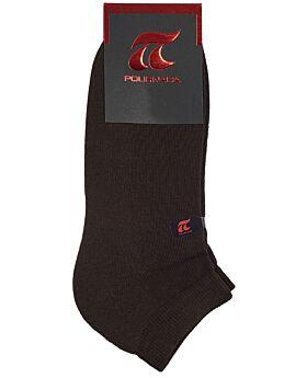 Πουρνάρα Αντρική κάλτσα Αθλητικό σοσόνι Καφέ 781