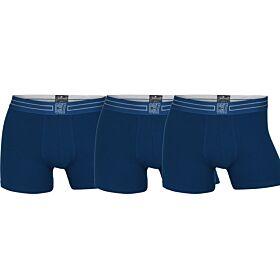 CR7 Mens Boxer Trunk 3-pack Organic Cotton Stretch Μπλέ