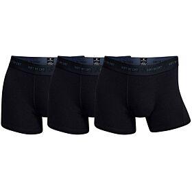 CR7 Mens Boxer 3-Pack Soft Bamboo Μαύρο