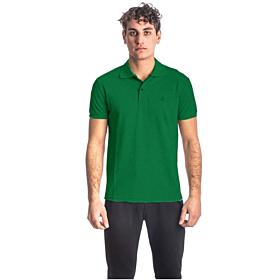 Paco & Co Polo T-Shirt Μονόχρωμο 85500 Πράσινο