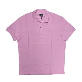 Paco & Co Polo T-Shirt Μονόχρωμο 85500 Ροζ