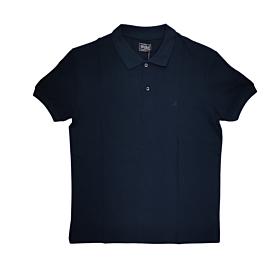 Paco & Co Polo T-Shirt Μονόχρωμο 85500 Μπλε Μαρίν