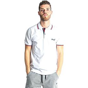 Paco & Co Polo T-Shirt Μονόχρωμο Λευκό