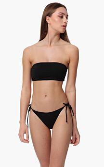 Minerva Delfi Tanga Bikini Slip Bottom Μαύρο