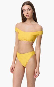Minerva Athina Rio Brazil Bikini Slip Bottom Κίτρινο