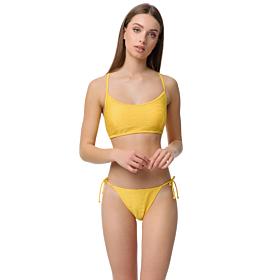 Minerva Athina Bralette Bikini Top Cup B Κίτρινο