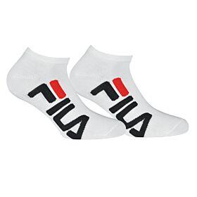 Fila Unisex Αθλητική Κάλτσα Σοσόνι F9199 2τεμ Λευκό