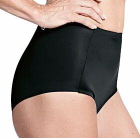 Triumph Becca High Panty Λαστέξ Χωρίς Πόδι Μαύρο
