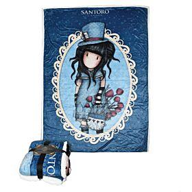 Santoro Gorjuss Κουβέρτα Blanket You Brought The Hatter 160*220cm