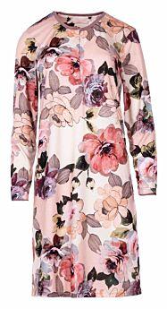 Pink Label Γυναικείο Νυχτικό W767 Floral Σομόν