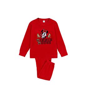 Admas Παιδική Πιτζάμα Κορίτσι Disney Minnie Gold Studs Κόκκινο
