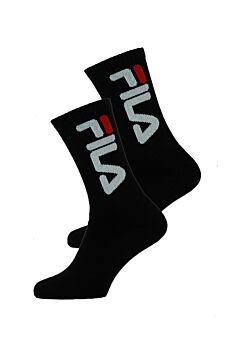 Fila Unisex Αθλητική Κάλτσα F9598 Μαύρο 2τεμ