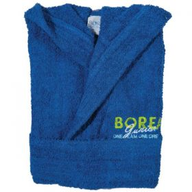 Borea Παιδικό/Εφηβικό Μπουρνούζι Junior No 8 Μπλε