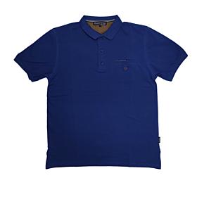 Canadian Country Polo T-Shirt Μονόχρωμο A200 Μπλε Ρουά