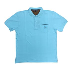 Canadian Country Polo T-Shirt Μονόχρωμο A200 Γαλάζιο