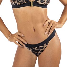 Dorina Ghana Tanga Μαγιό Bikini Bottom Μπεζ-Animal Print