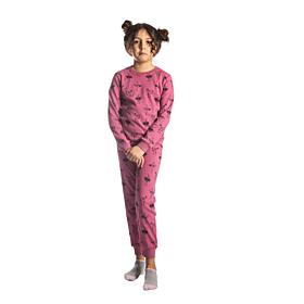 Dreams Παιδική Πιτζάμα Κορίτσι Μπαλαρίνες Σάπιο Μήλο