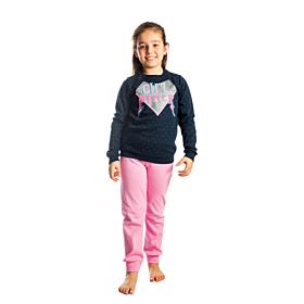 Dreams Παιδική Πιτζάμα Κορίτσι Girl Power Μπλε Μαρίν-Ροζ