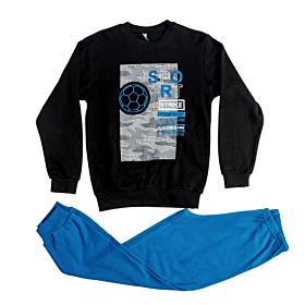 Dreams Παιδική Πιτζάμα Αγόρι Sport Strike Μαύρο-Μπλε