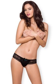 Obsessive Brazilian Panties 867 Με Δαντέλα Μαύρο