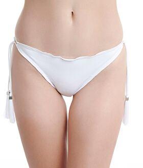 Erka Μαγιό Bikini Bottom Tanga White