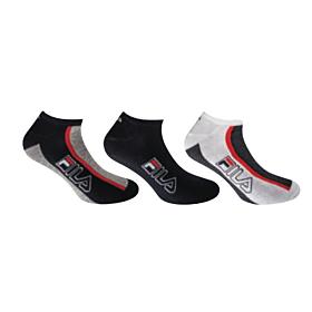 Fila Unisex Αθλητική Κάλτσα Σοσόνι F2650 Μπλέ 3τεμ