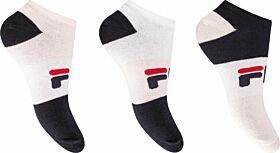 Fila Γυναικεία Αθλητική Κάλτσα Σοσόνι F6919 Pink Panther 3τεμ